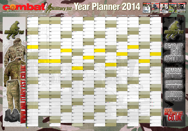combat-and-survival-year-planner-2014