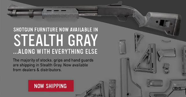 Magpul Newsletter // Now Shipping Stealth Gray Parts & LR/SR Ranger ...
