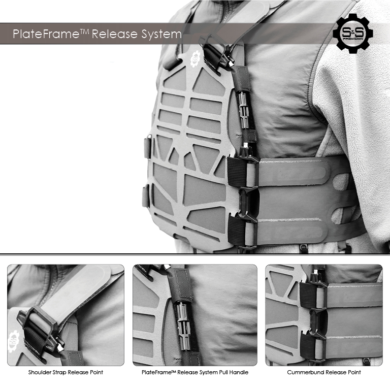 S&S Precision PlateFrame Release System